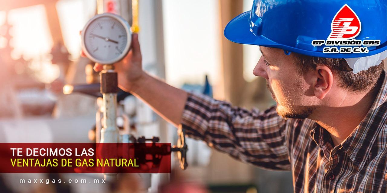 Ventajas del gas natural